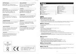 Casio HR-100ER