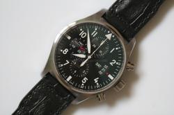 IWC 3777 Pilot Chronograph
